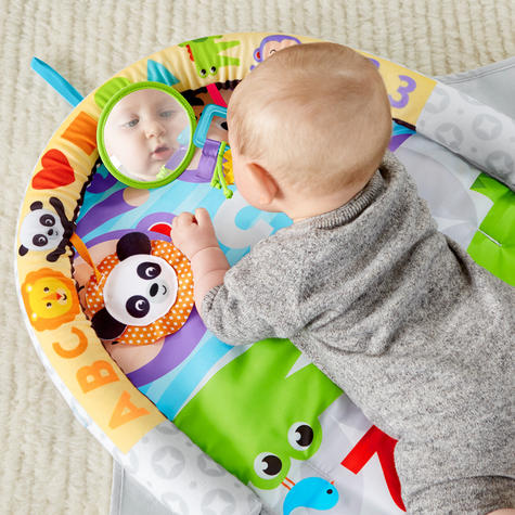 Fisher-Price Puppy n Pals Learning Gym | Light& Musical Playmat | Soft &Comfy | Washable | New Thumbnail 4