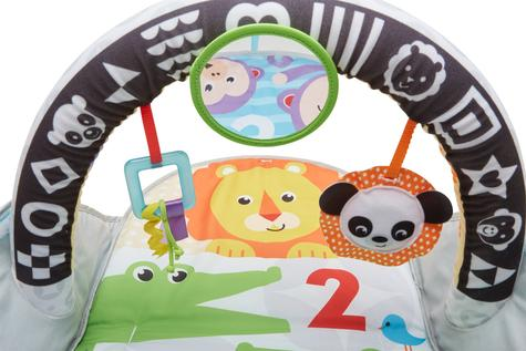 Fisher-Price Puppy n Pals Learning Gym | Light& Musical Playmat | Soft &Comfy | Washable | New Thumbnail 5