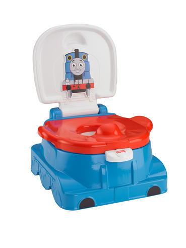 Fisher-Price Thomas and Friends Rewards Baby Potty/Toilet Trainer | Sounds & Tunes | New Thumbnail 2