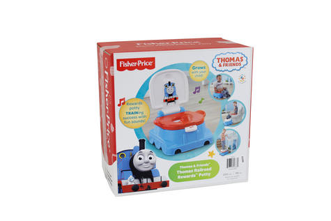Fisher-Price Thomas and Friends Rewards Baby Potty/Toilet Trainer | Sounds & Tunes | New Thumbnail 3
