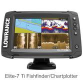 "Lowrance Elite-7 Ti - 7"" Display