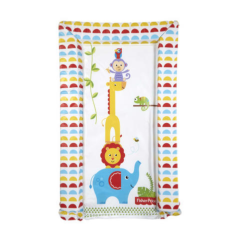 Fisher-Price Baby's Nappy Changing Mat - Reach the Sky | Comfort+Easy To Wipe | 0m+ Thumbnail 2