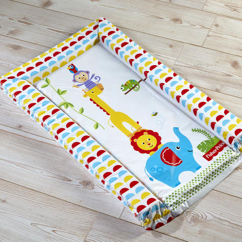 Fisher-Price Baby's Nappy Changing Mat - Reach the Sky | Comfort+Easy To Wipe | 0m+ Thumbnail 3