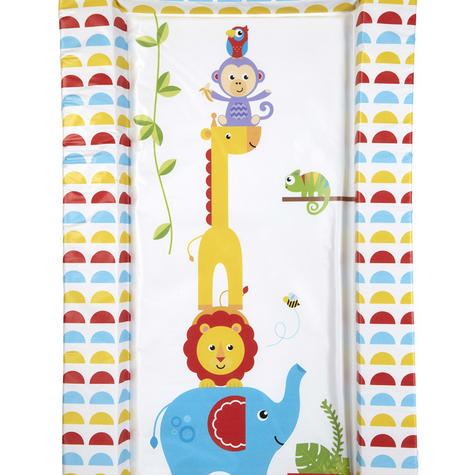 Fisher-Price Baby's Nappy Changing Mat - Reach the Sky | Comfort+Easy To Wipe | 0m+ Thumbnail 4