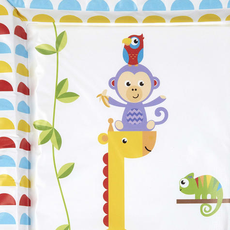 Fisher-Price Baby's Nappy Changing Mat - Reach the Sky | Comfort+Easy To Wipe | 0m+ Thumbnail 5