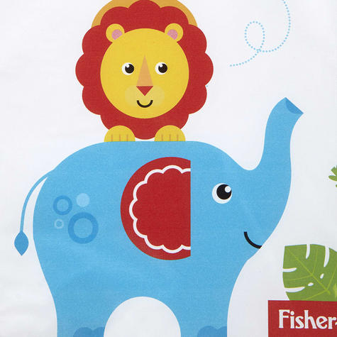 Fisher-Price Baby's Nappy Changing Mat - Reach the Sky | Comfort+Easy To Wipe | 0m+ Thumbnail 6