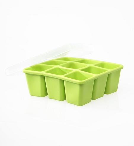 Annabel Karmel Baby Food Storing/Freezing Cube Tray | Flexible Pots | 9 X 60ml | +6m Thumbnail 3