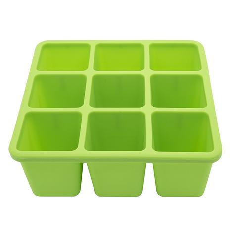 Annabel Karmel Baby Food Storing/Freezing Cube Tray | Flexible Pots | 9 X 60ml | +6m Thumbnail 4