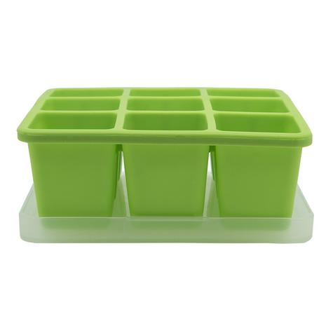 Annabel Karmel Baby Food Storing/Freezing Cube Tray | Flexible Pots | 9 X 60ml | +6m Thumbnail 5