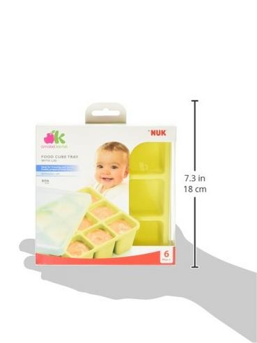 Annabel Karmel Baby Food Storing/Freezing Cube Tray | Flexible Pots | 9 X 60ml | +6m Thumbnail 8