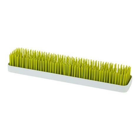 Boon Long Patch Slimline Grass Green Countertop Drying Rack | Kitchen Accessory | BPA Free Thumbnail 2