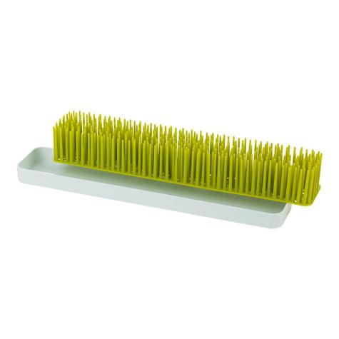 Boon Long Patch Slimline Grass Green Countertop Drying Rack | Kitchen Accessory | BPA Free Thumbnail 4