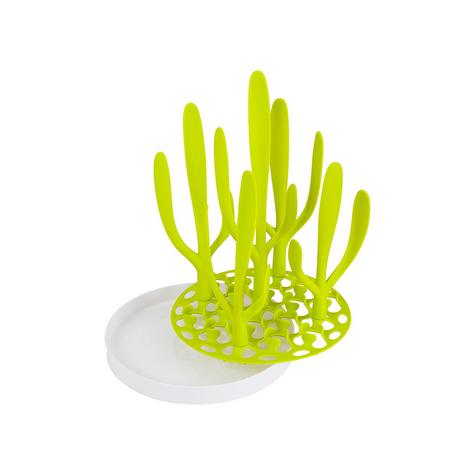 Boon Sprig Vertical Drying Rack Tray | Baby Bottle/Accessory Holder | Easy Storage & Cleaning Thumbnail 3