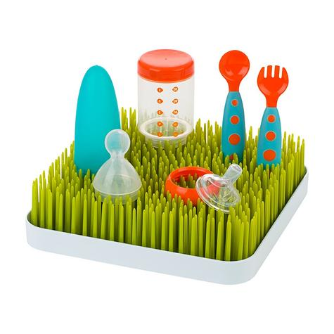 Boon Grass Countertop Baby Bottles/Pots/ Food Containers Drying Rack | BPA-free | Easy-to-Clean Thumbnail 4