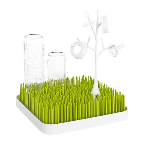 Boon Grass Countertop Baby Bottles/Pots/ Food Containers Drying Rack | BPA-free | Easy-to-Clean Thumbnail 5