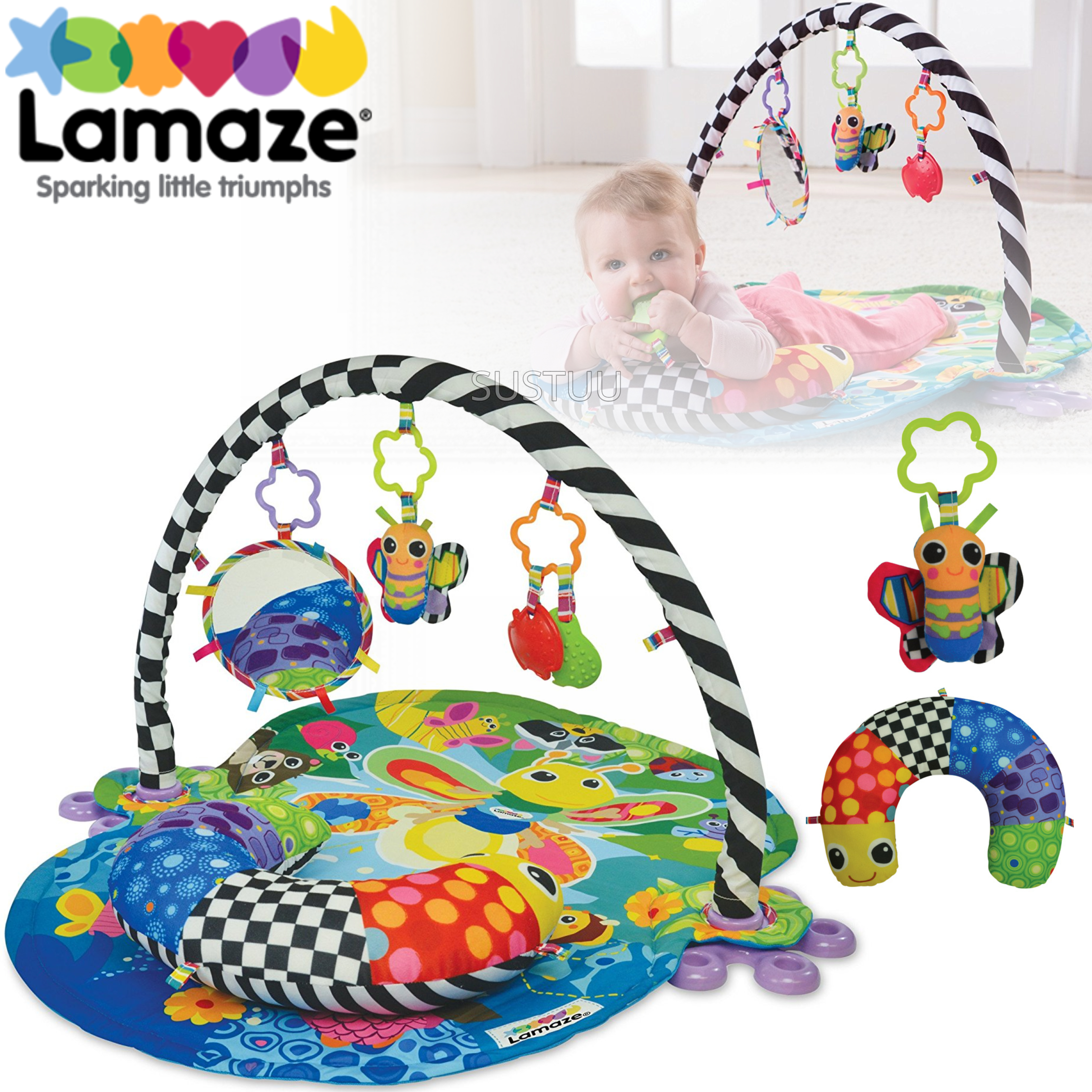 Baby Lamaze Freddie The Firefly Gym Toys & Activities