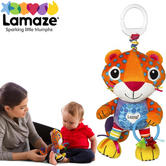 Lamaze Purring Percival | Clip On Pram/Pushchair | Child Activity Toy With Sound Box
