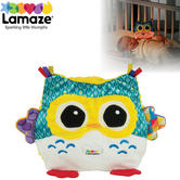 Lamaze Colour Changing Nightlight Owl | Musical Baby/Toddler Sleep Soothe Soft Toy | +0 Months