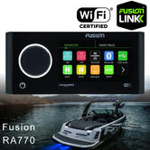 Fusion Ra770 Apollo Marine EN. System with Built-In Wi-Fi|AM/FM/Bluetooth|IPx7