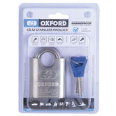 Oxford CS12 Marine Stainless Steel Lock - 60mm|Corrosion Resistant|Marine Use