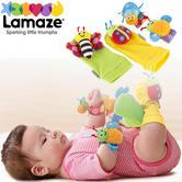 Lamaze Gardenbug Wrist Rattle Footfinder Set | Bright Colours,Cute Faces+Fun Noice