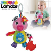 Lamaze Olly Oinker | Clipon Pram/ Pushchair/ Changing Bag Baby/ Kid Toy | With Sound | +0 Months