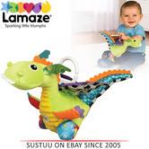 Lamaze Flip Flap Dragon | Clip On Pram/Pushchair/CarSeat | Baby/kid Fun Activity Toy