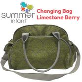 Summer Infant Changing Bag Limestone Berry|Large Space Storage Pocket|78456|New|