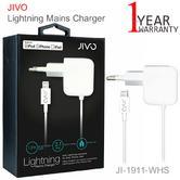 Jivo Lightning Mains Charger -EU-2.1A   JI-1911-WHS   For iPod/ iPad/ iPhone   White