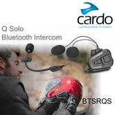 Cardo Scala Rider Q Solo Bluetooth Headset | Motorcycle Helmet Intercom System | New