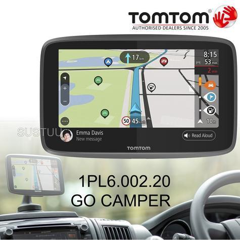 TomTom Go Camper GPS SatNav | Lifetime World Map + Traffic + Speed Cameras | Wi-Fi Update Thumbnail 1