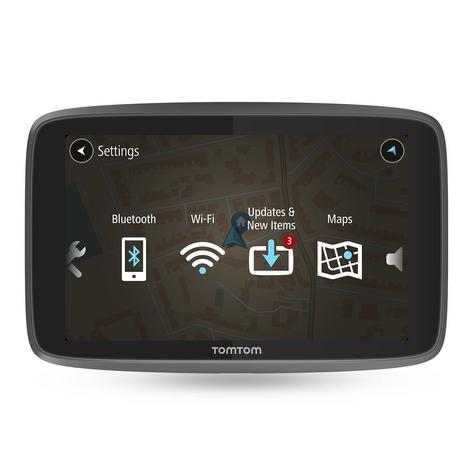 TomTom Go Camper GPS SatNav | Lifetime World Map + Traffic + Speed Cameras | Wi-Fi Update Thumbnail 3