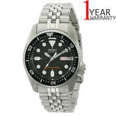 Seiko Mens Automatic 200M Divers Analouge Watch?Stainless Steel Belt?Black Dial?