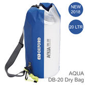Oxford OL891 20 Litre AQUA DB-20 Dry Bag|Waterproof Seal|For Water Sports/ Marine?Blue