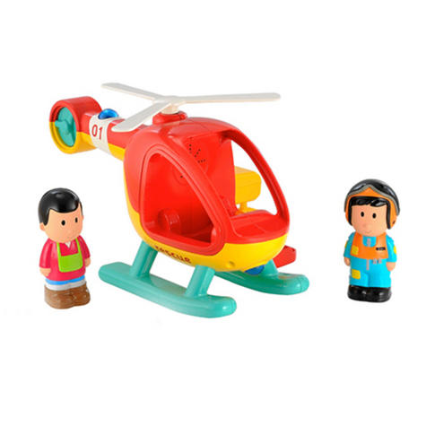 Early Learning Centre Happy Land Helicopter   Baby/ Kids Fun Toy With Light & Sound   +18 Months Thumbnail 3