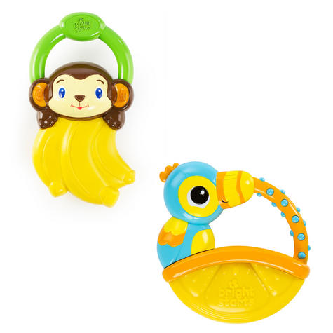 Bright Starts Vibrating Teethers Assortment   Baby/Toddler's Gummy Textured Dummy Thumbnail 2