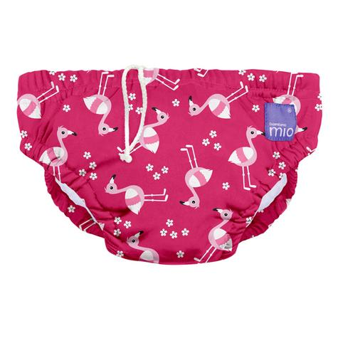 Bambino Mio Reusable Swim Nappy Flamingo|Water Resistant Layer|Soft Cotton|2+yrs Thumbnail 2