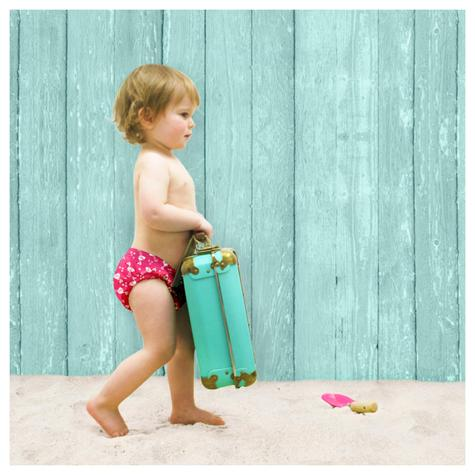 Bambino Mio Reusable Swim Nappy Flamingo|Water Resistant Layer|Soft Cotton|2+yrs Thumbnail 3