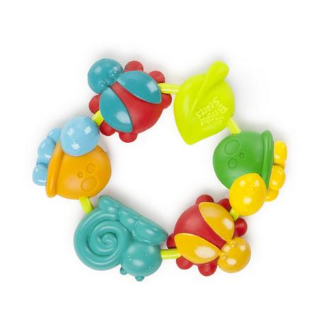 Bright Starts Buggie Bites Teether For Baby | Bright,Colorful & Teethable Beads Thumbnail 2