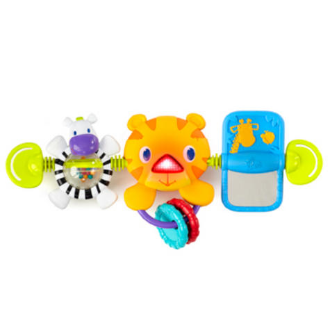 Bright Starts Take Along Kids Toy Bar   Clip on CarSeat/Carriers   With Lights+Songs Thumbnail 2