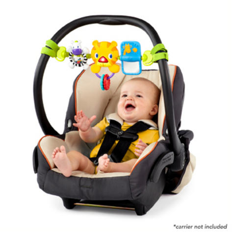 Bright Starts Take Along Kids Toy Bar   Clip on CarSeat/Carriers   With Lights+Songs Thumbnail 3