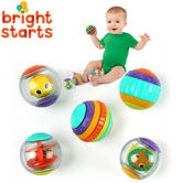 Bright Starts Shake and Spin Baby/ Kid/ Toddler's Learning Activity Balls?5PK?+3 Months