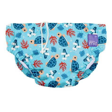 Bambino Mio Reusable Swim Nappy Turtle Baby|Water Resist Layer|Soft Cotton|2yrs+ Thumbnail 2