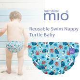 Bambino Mio Reusable Swim Nappy Turtle Baby|Water Resist Layer|Soft Cotton|6-12m