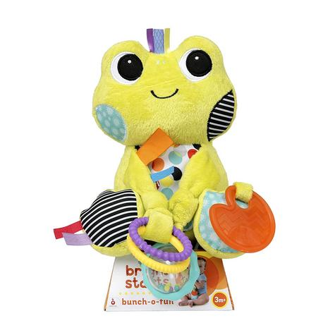 Bright Starts Bunch O Fun- 2 Characters | Baby/Kid/Toddlers Soft Plush Toy+Teether | +0 Months Thumbnail 5