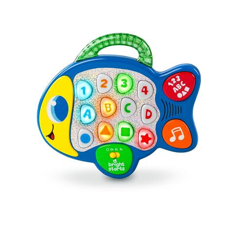 Bright Starts Learn and Giggle Fish   Baby/Kids Activity Toy With Sounds & Lghts Thumbnail 2