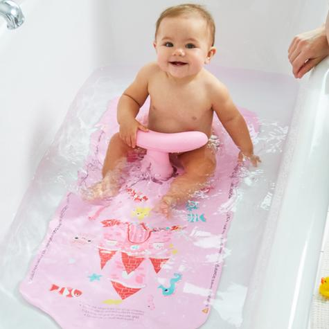 Mothercare Aqua Pod|Baby Kid's Bath Support Seat|Safe Bath|Hot Spot Feature|Girl Thumbnail 6