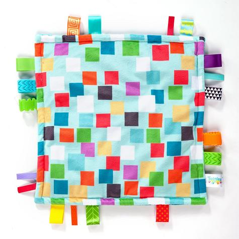 Bright Starts Little Taggies Comfort Blanket (ASSORTMENT) | With Soft Teether Tags Thumbnail 4