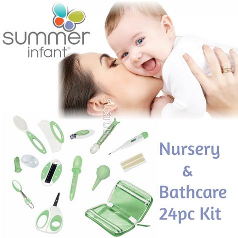 Summer Infant Nursery and Bathcare Kit?Kid's Hygiene Care & Grooming Set?24pc? Thumbnail 1