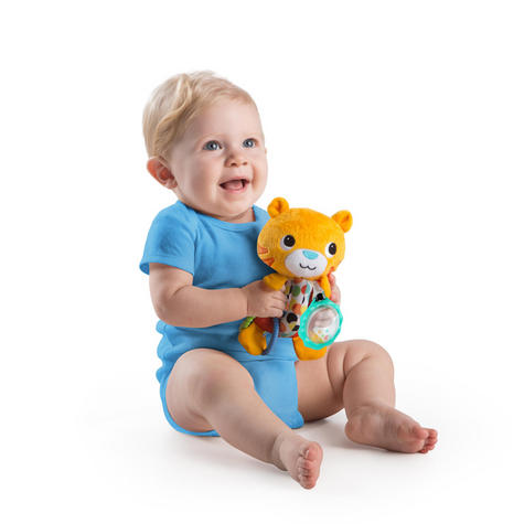 Bright Starts Grab Me Friends | Baby/ Toddler/ Kid's Soft Plush Toy+Teething Ring | +3 Months Thumbnail 6